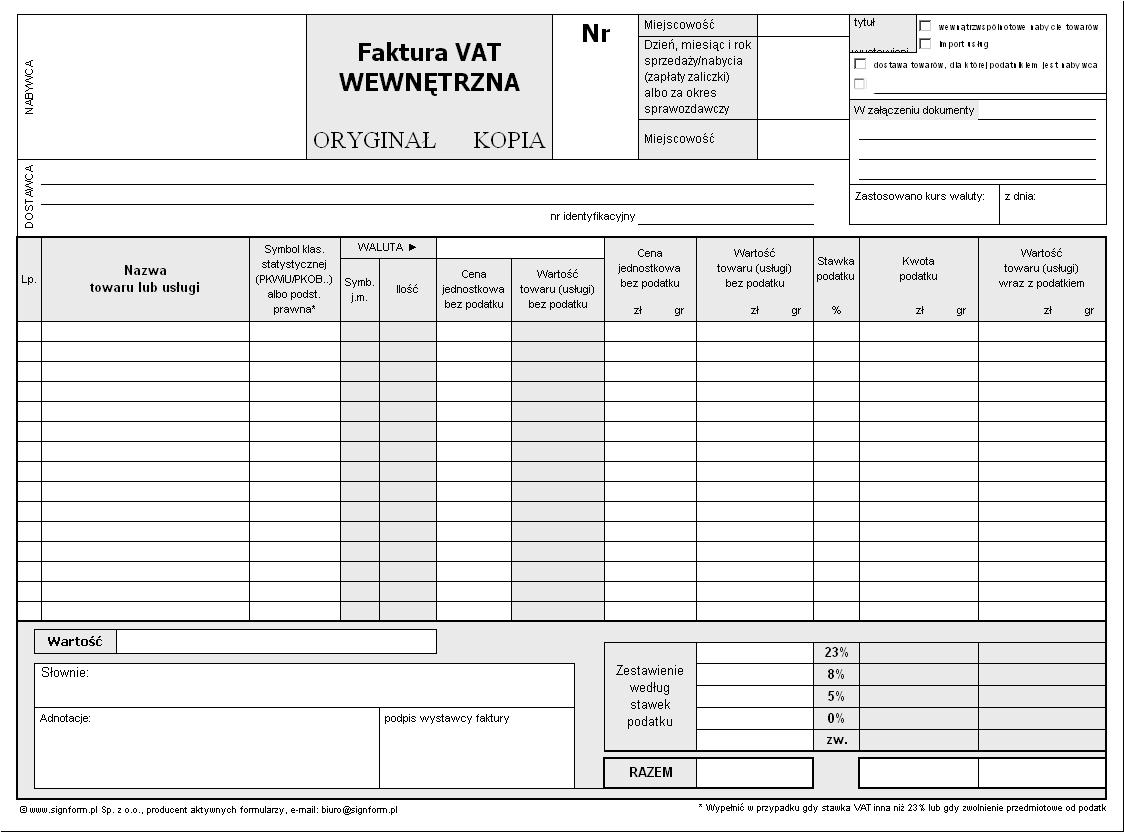 Aktywne Formularze Excel Word Adobe Signform